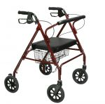 Drive Medical Go-Lite Bariatric Rollator