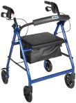 Rollator with Folding Removable Back Support by Drive Medical